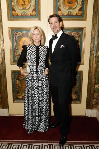 Crown Princess Marie-Chantal of Greece and Crown Prince Pavlos of Greece