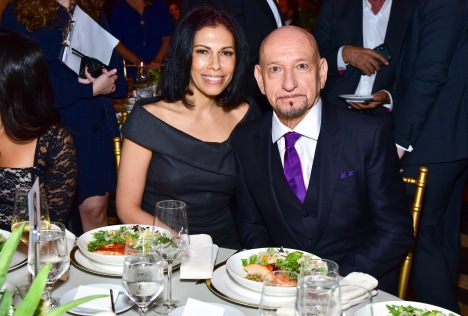 Daniela Lavender and Sir Ben Kingsley