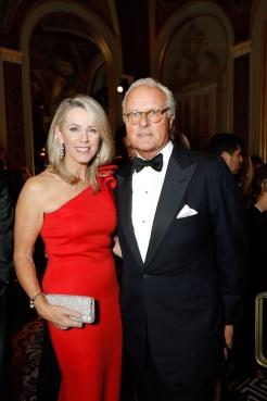 Deborah Norville and Karl Wellner