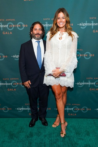 Mike Heller and Kelly Killoren Bensimon