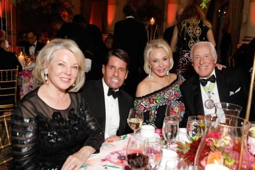 Jeanne Lawrence, Chris Meigher, Ambassador Mary Dawkins and General Peter Dawkins