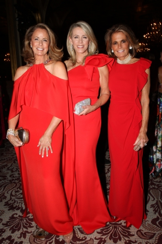 Jennifer Fischer, Deborah Norville, Grace Meigher (photo by Cutty McGill)