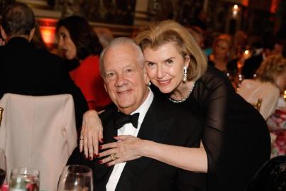 John Bernbach and Violaine Bernbach