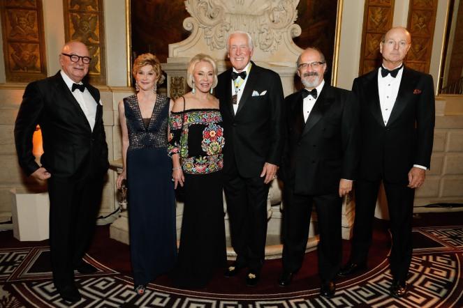 Juan Montoya, Jackie Weld Drake, Ambassador Mary Dawkins, General Peter Dawkins, Edgar Legaspi and Prince Dimitri of Yugoslavia