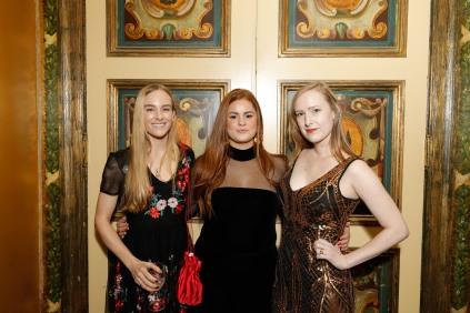 Marina Wambold, Jess Speiser and Daniela Wambold