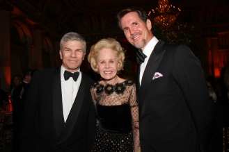 Peter Bacanovic, Ann Nitze, Crown Prince Pavlos of Greece (photo by Cutty McGill)