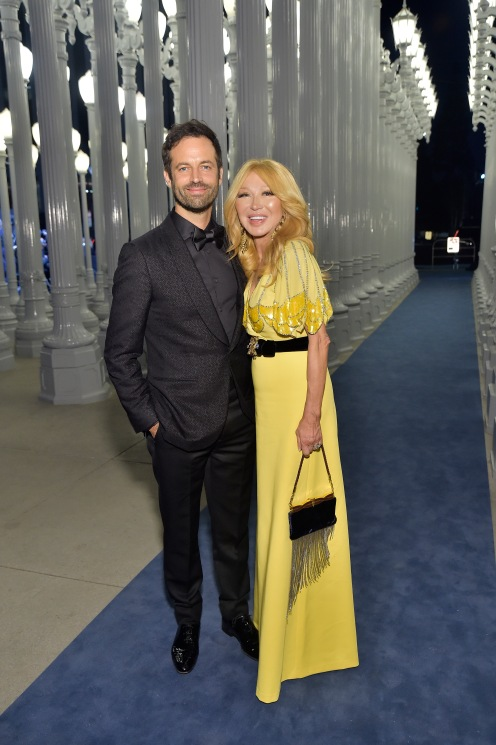 Benjamin Millepied and Elizabeth Segerstrom attend the 2019 LACMA Art + Film Gala (Photo by Stefanie Keenan/Getty Images for LACMA)