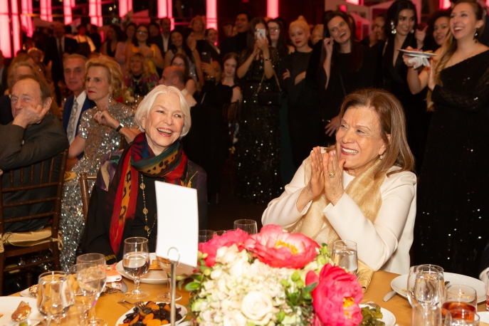Ellen Burstyn, Anna Strasberg by Hunter Canning