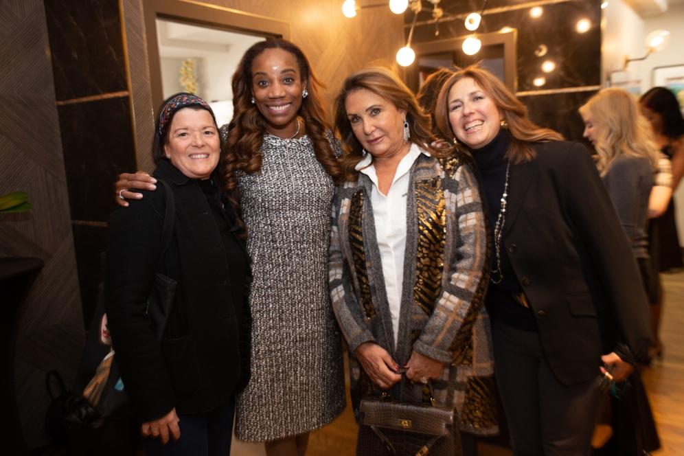 Jane Bischoff, Dr.O, Vivette Tigrak, Liz Clement