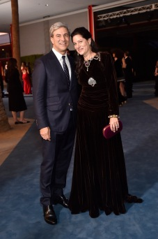 LACMA CEO and Wallis Annenberg Director Michael Govan, wearing Gucci, and Katherine Ross, wearing Gucci attend the 2019 LACMA Art + Film Gala Presented By Gucci at LACMA on November 02, 2019 in Los Angeles, California. (Photo by Stefanie Keenan/Getty Images for LACMA)