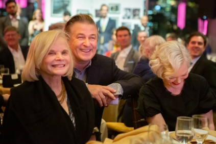Margaret Ladd, Alec Baldwin, Billie Andersson by Hunter Canning