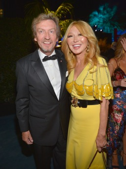 Nigel Lythgoe and Elizabeth Segerstrom attend the 2019 LACMA Art + Film Gala Presented By Gucci at LACMA on November 02, 2019 in Los Angeles, California. (Photo by Donato Sardella/Getty Images for LACMA)