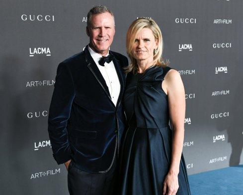 Will Ferrell and LACMA trustee Viveca Paulin. Photo by Billy Farrell:BFA.com