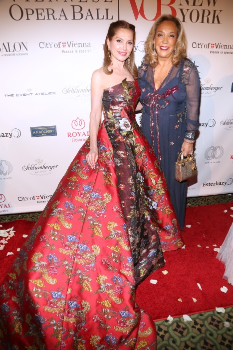 Jean Shafiroff and Denise Rich