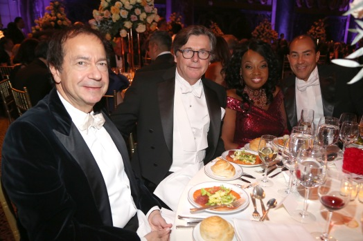John Paulson, Franz Muster, Star Jones and Ricardo Lugo