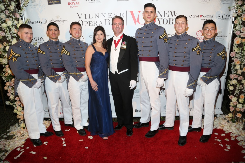 John Willis, Trisha Willis and West Point Cadets