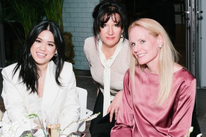 Angela Hwang, Larissa Saveliev (YAGP Founder), Nan Willison (YAGP Board of Directors)