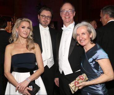 Sabine Riglos, Michael Haiger, Dr. Helmut Boeck and Barbara Boeck